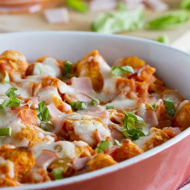 Change up your stuffing this year by making this Pizza Stuffing - stuffing with a pizza twist!