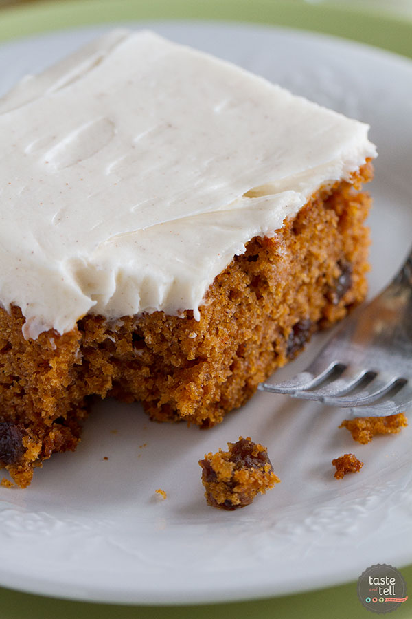 Tomato Soup Spice Cake Recipe on Taste and Tell