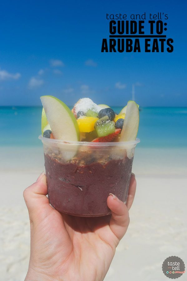 Taste and Tell's Guide - Where to Eat in Aruba: seafood, Dutch pancakes, fresh coconut water and more!