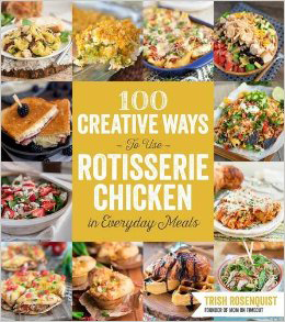 A review of 100 Creative Ways to Use Rotisserie Chicken review plus a recipe for Coconut Curry Chicken.