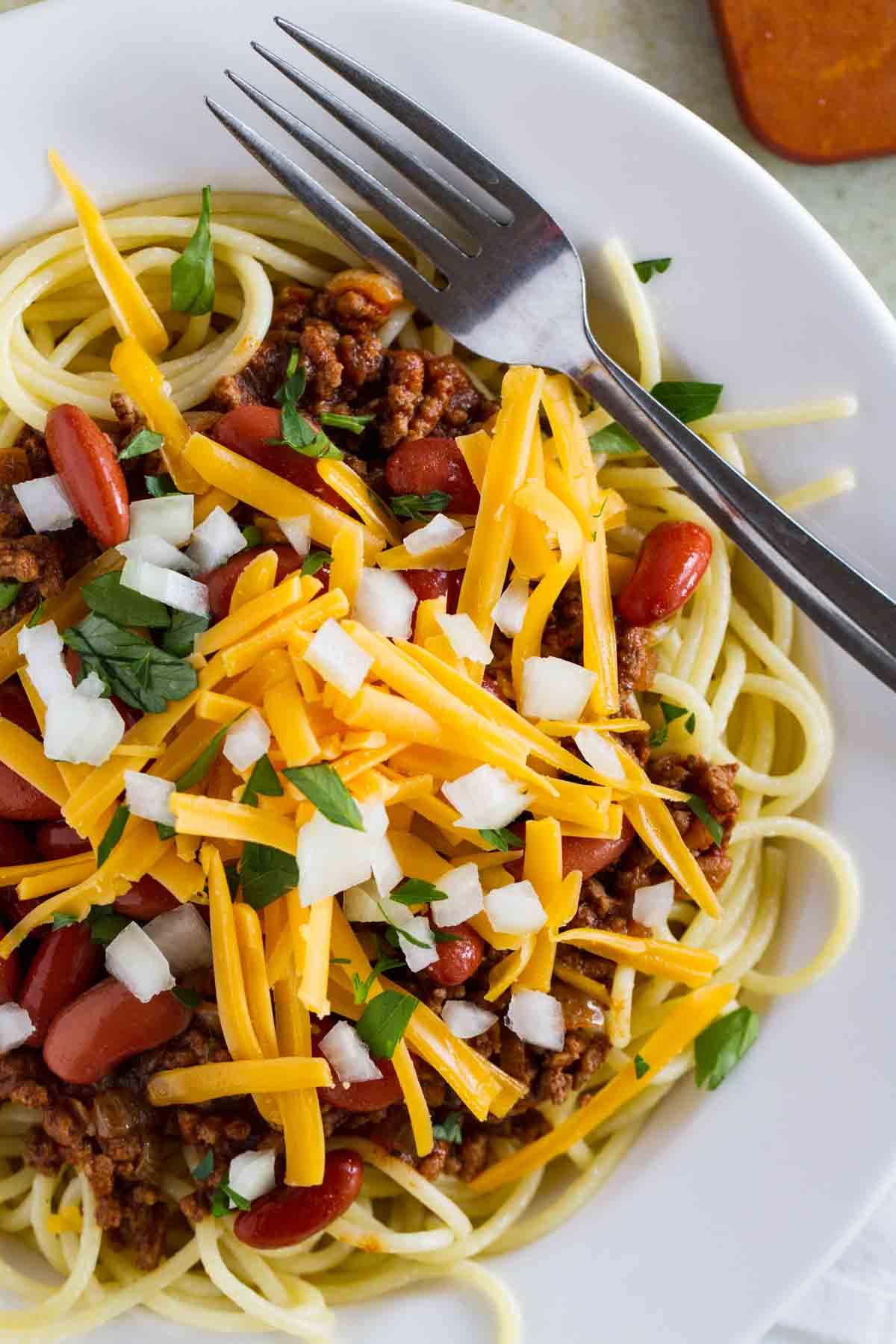 Traditional Cincinnati Chili Recipe With Spaghetti Taste And Tell