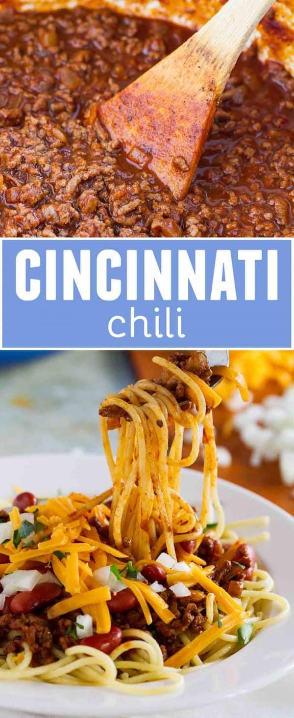 Cincinnati Chili Recipe: Traditional Cincinnati Chili Recipe With Spaghetti