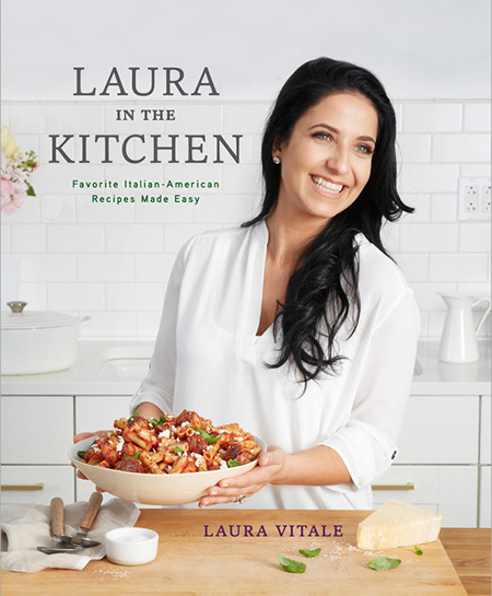 A review of Laura in the Kitchen, plus a recipe for No-Bake Nutella Cheesecake.