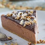 Cheesecake doesn't have to be difficult! This No-Bake Nutella Cheesecake is easy enough for cheesecake beginners. It is rich, creamy, and full of chocolate flavor.