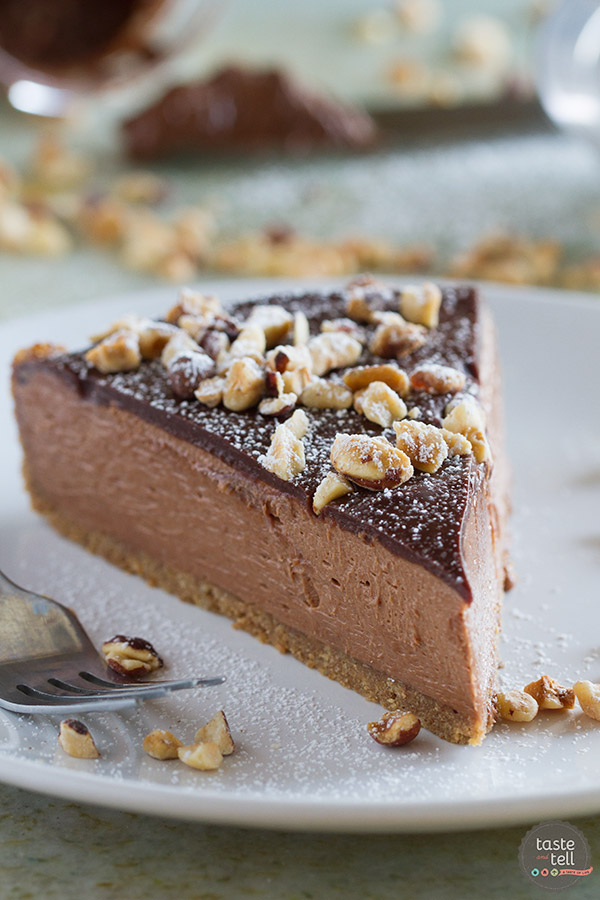 Cheesecake doesn't have to be difficult! This No-Bake Nutella ...