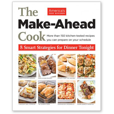 A review of The Make-Ahead Cook, plus a recipe for Roasted Pork Tenderloin with Potatoes and Mustard Sauce.