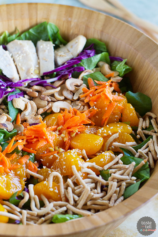 Asian ginger chicken salad taste and tell asian ginger chicken salad forumfinder