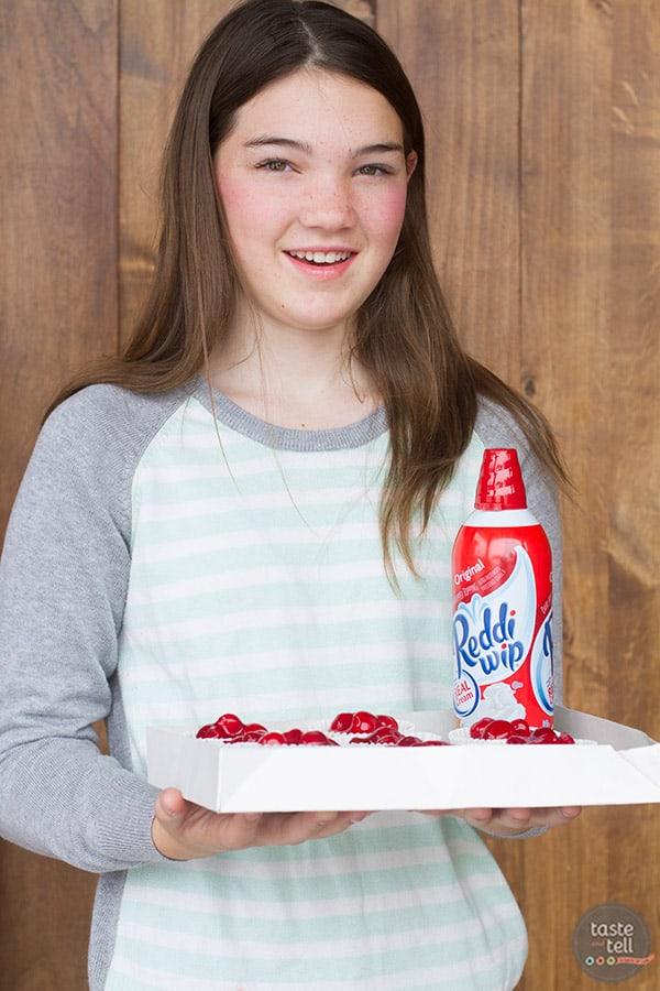 Cherry Cheesecake Tarts recipe - perfect for sharing!