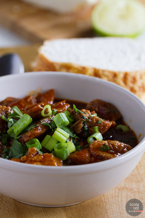 New Mexican Red Pork Chili Taste And Tell