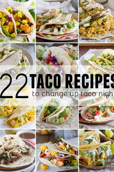 Taco night is anything but boring! Here are 22 taco recipes that are sure to keep your taste buds happy.
