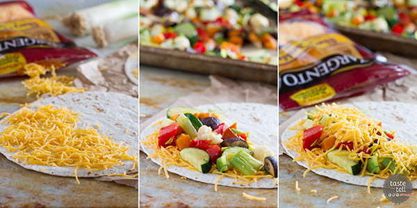 Roasted Veggie Quesadillas Recipe