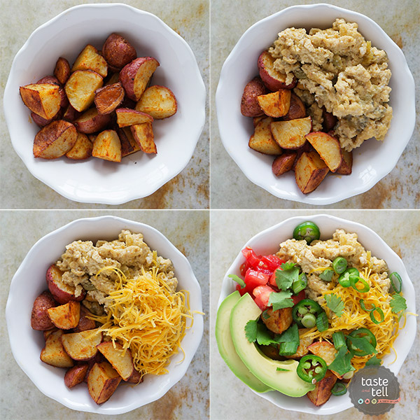 How to make a Southwestern Breakfast Bowl.