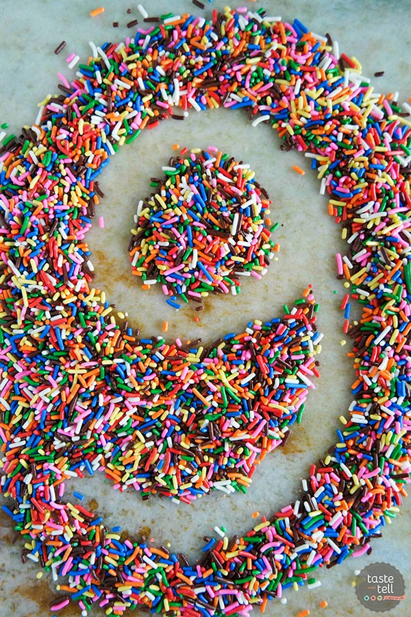 Taste and Tell turned 9, and is celebrating with Homemade Funfetti Cake Donuts!