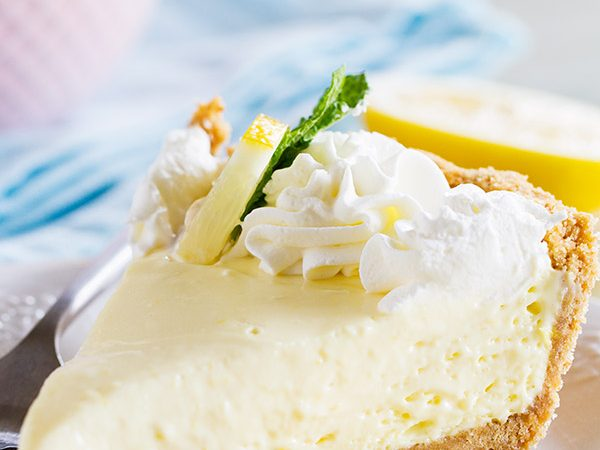 A simply lemon pie is only a few ingredients away! This Lemon Cream Pie comes together with very little prep, is practically fail-proof, and is a pie everyone will love!