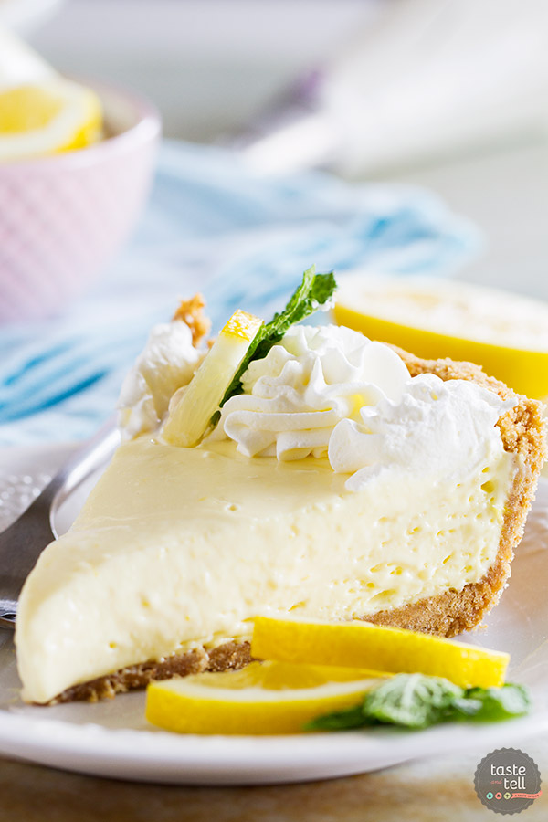 A simple lemon pie is only a few ingredients away! This Lemon Cream Pie comes together with very little prep, is practically fail-proof, and is a pie everyone will love!