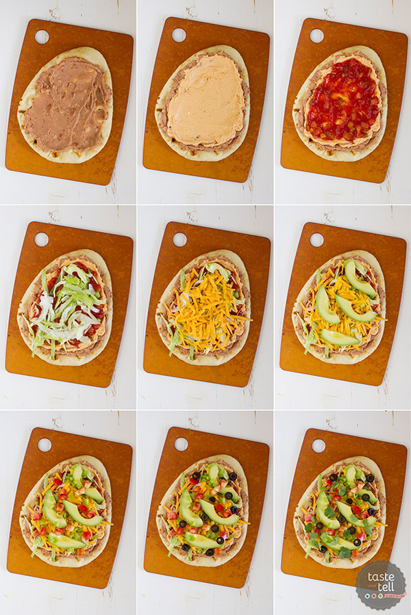 7 Layer Flatbread Recipe
