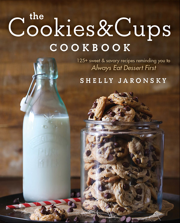 A review of The Cookies and Cups Cookbook, plus a recipe for Ice Cream Soaked French Toast