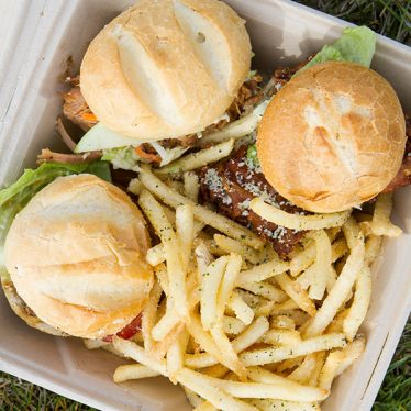 Black's Sliders - a Utah food truck serving locally sourced, hormone and antibiotic free food.