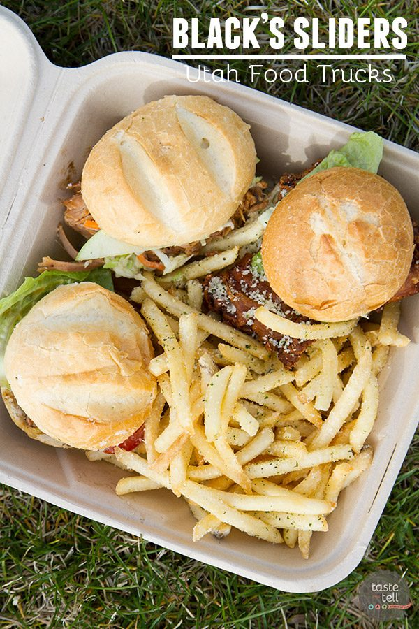 Black's Sliders – Utah Food Trucks