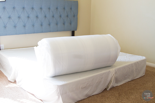Tuft and Needle Mattress unboxing - Master Bed on a Budget