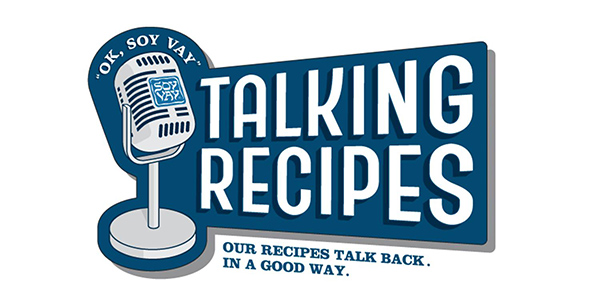 Soy Vay Talking Recipes