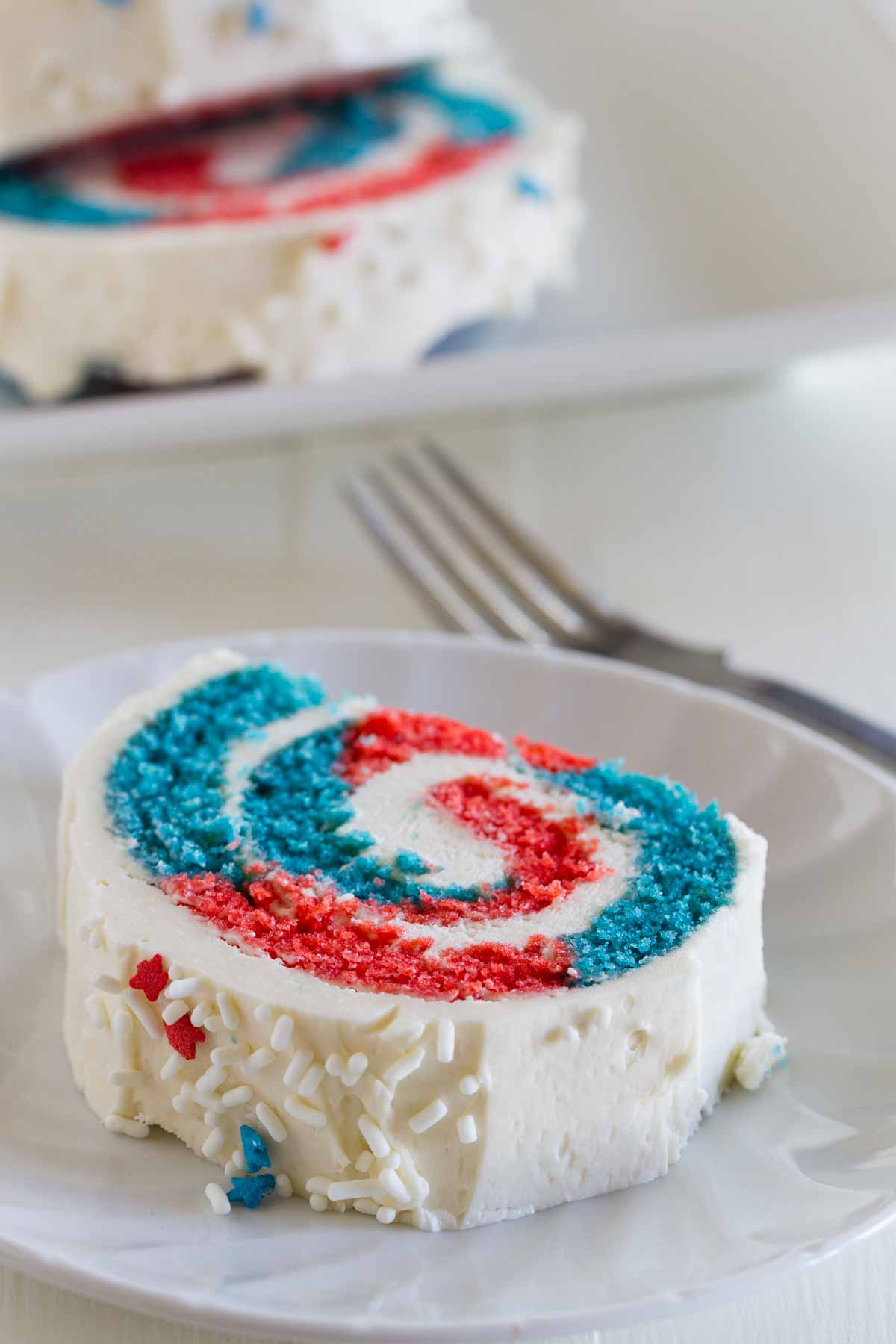 4th Of July Cake Roll Taste And Tell