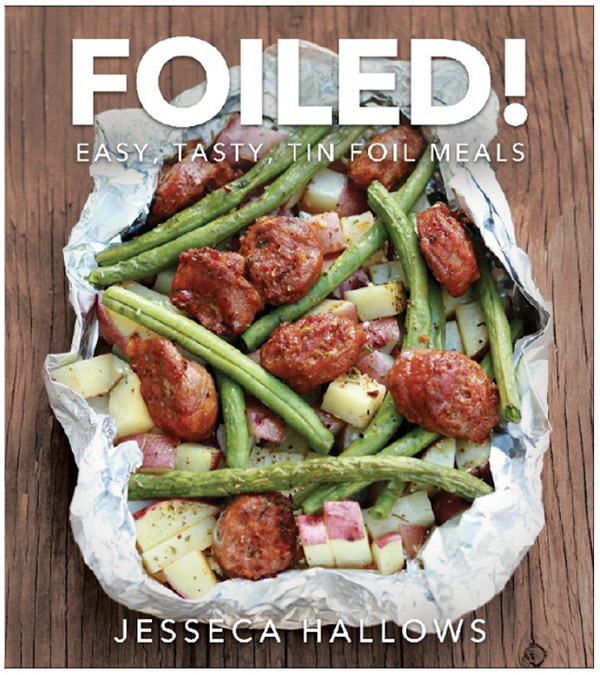 A review of Foiled! Easy, Tasty, Tin Foil Meals, plus a recipe for Hot Ham and Cheese Campfire Sandwiches.