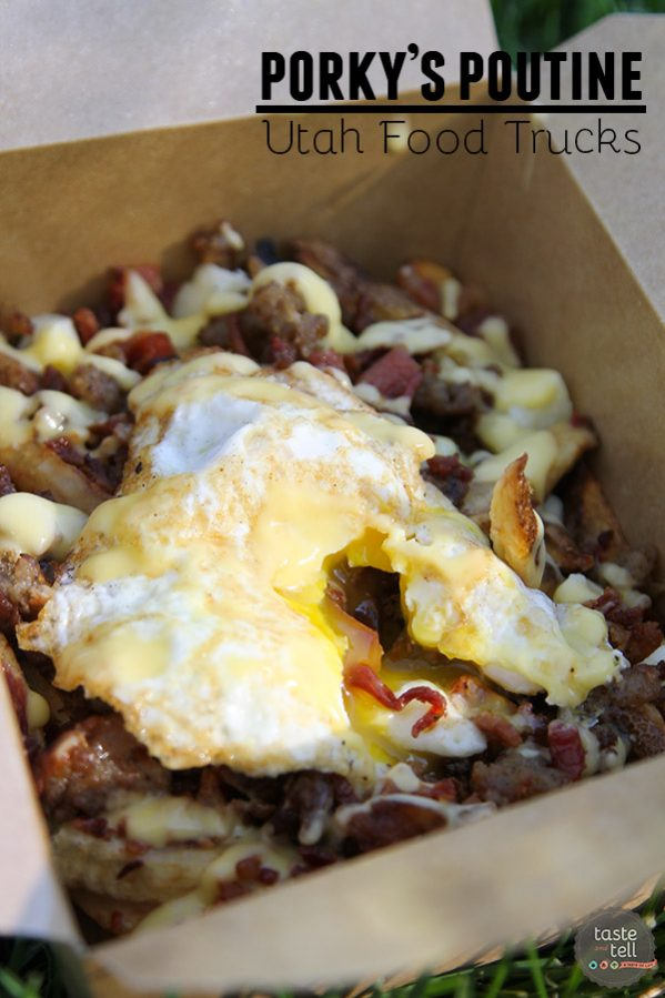 You don't need to drive to Canada for poutine - Porky's Poutine is a Utah Food Truck specializing in this comfort food from the north.