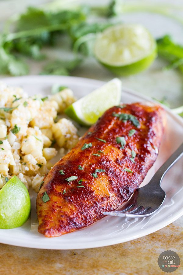 Taco Grilled Fish Recipe