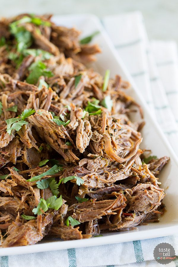 Chipotle Shredded Beef {Instant Pot}