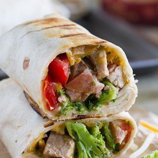 Take it to the grill! These Grilled Pork Burritos only have a few ingredients, but are not short on flavor. This is the perfect way to serve up burritos with a summer flair.