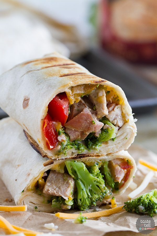 Grilled Pork Burritos