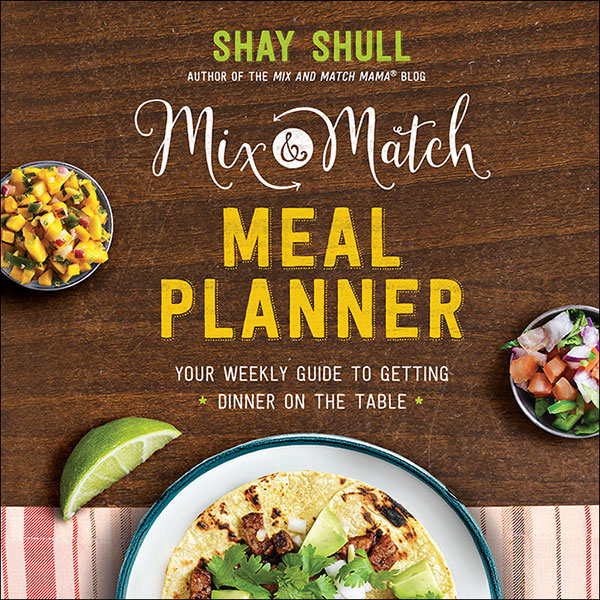 A review of Mix and Match Meal Planner plus a recipe for Greek Tacos.