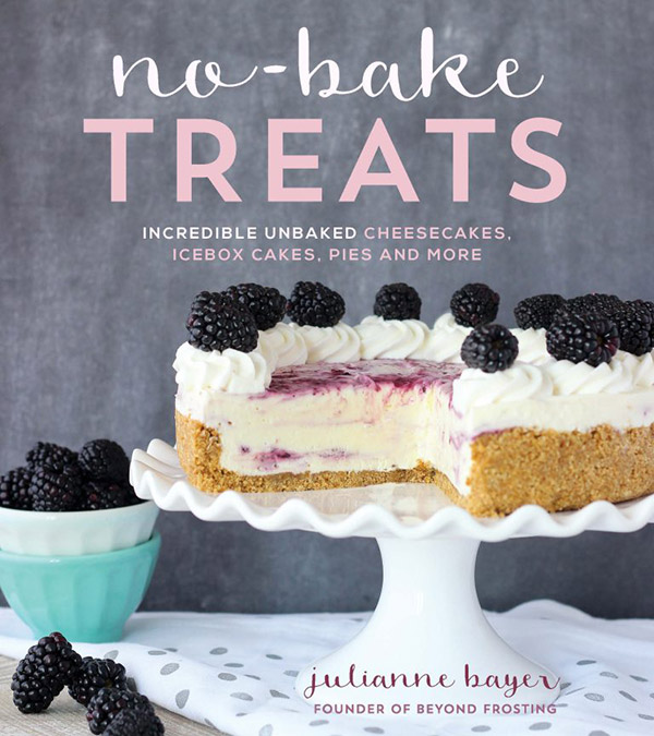A review of No-Bake Treats by Julianne Bayer, plus a recipe for Peanut Butter Banana Icebox Cake.