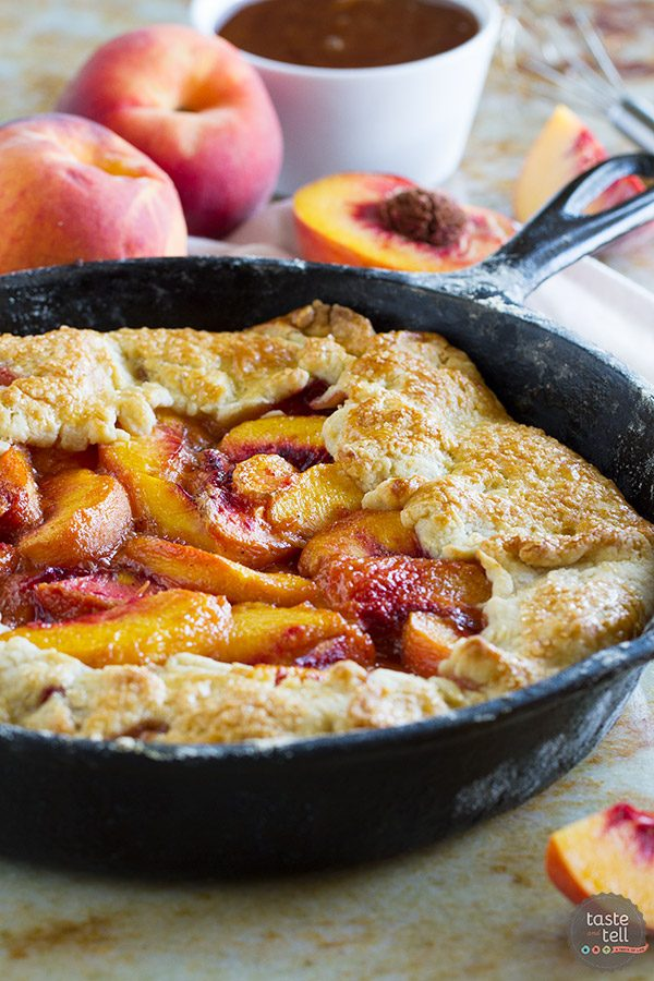 Cast Iron Peach Crostata Recipe