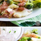 Starting with frozen pierogi makes this Easy Pierogi Recipe with Ham and Broccoli an easy weeknight meal. It's a fun and tasty meal that the whole family will love!