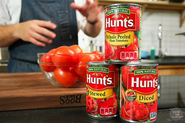 FlashSteam demonstration with Hunt's Tomatoes