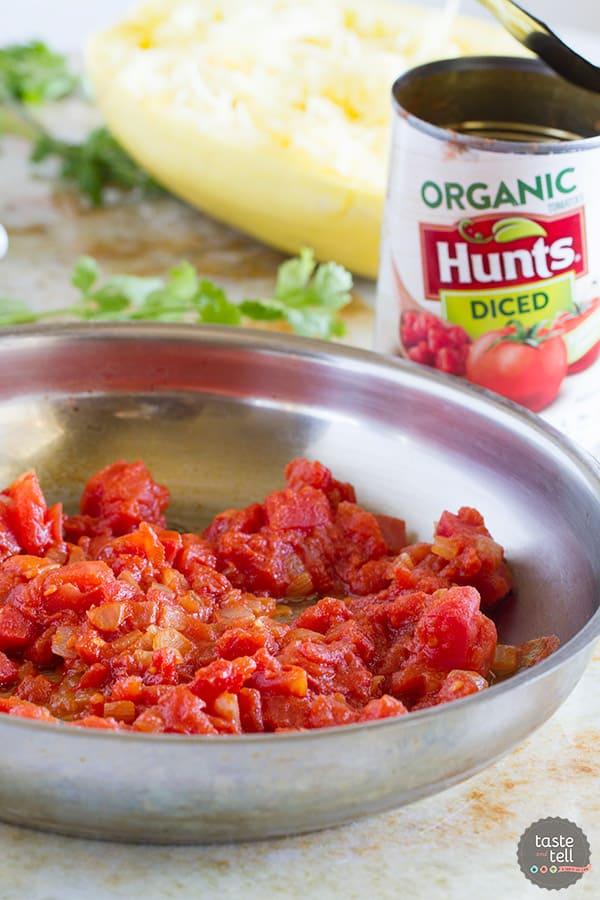How to make Huevos Rancheros Inspired Spaghetti Squash.