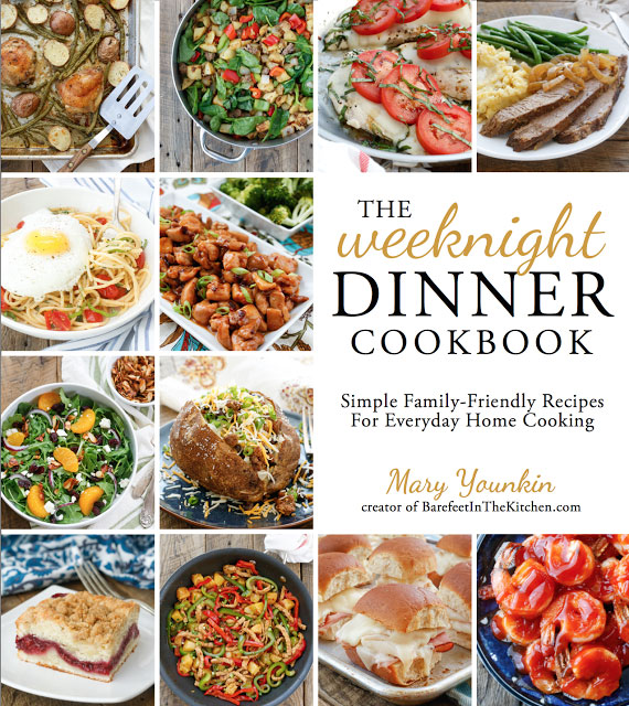 A review of The Weeknight Dinner Cookbook, plus a recipe for Cheesy Ranch Chicken with Potatoes.