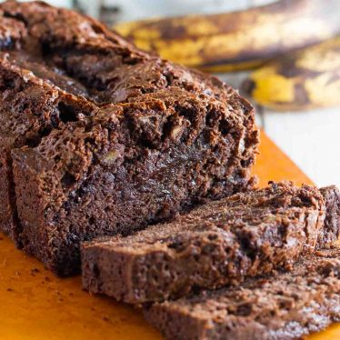 What do you get when you combine brownies and banana bread? This delectable Brownie Mix Banana Bread! Rich and chocolatey with the moistness of banana bread, you won't be able to stop at one slice!
