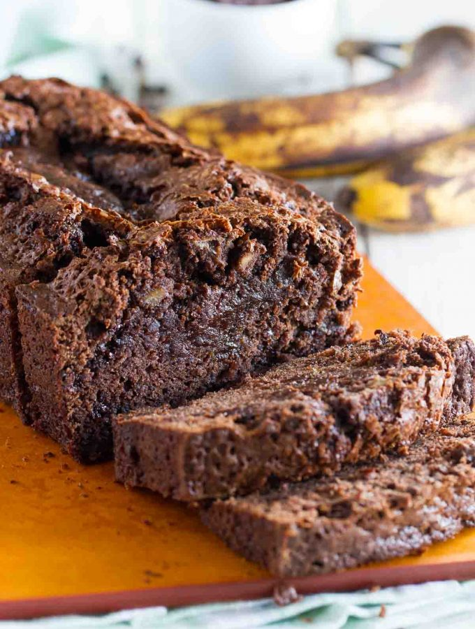 Brownie Mix Banana Bread