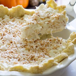 This Creamy Coconut Pie needs to become a classic - such a great holiday dessert!!