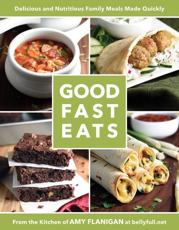 A review of Good Fast Eats and a recipe for Honey-Sesame Chicken Salad Wraps.