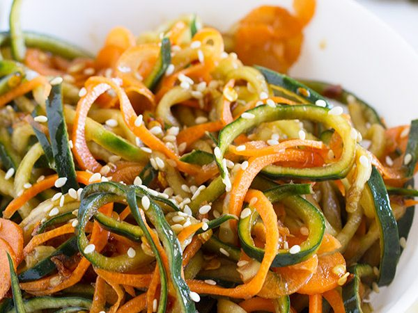 The perfect way to get in some extra veggies - this Korean Cucumber Salad is easy, fast, and full of flavor.