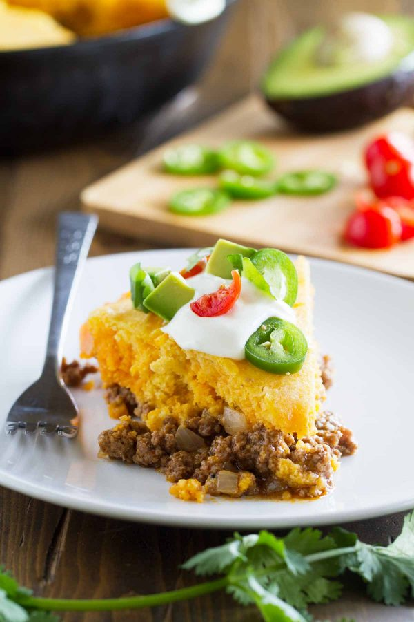 Slice of Tamale Pie