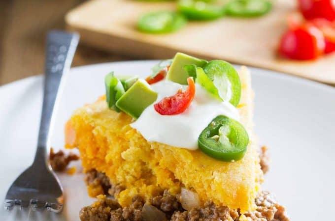 Slice of Tamale Pie
