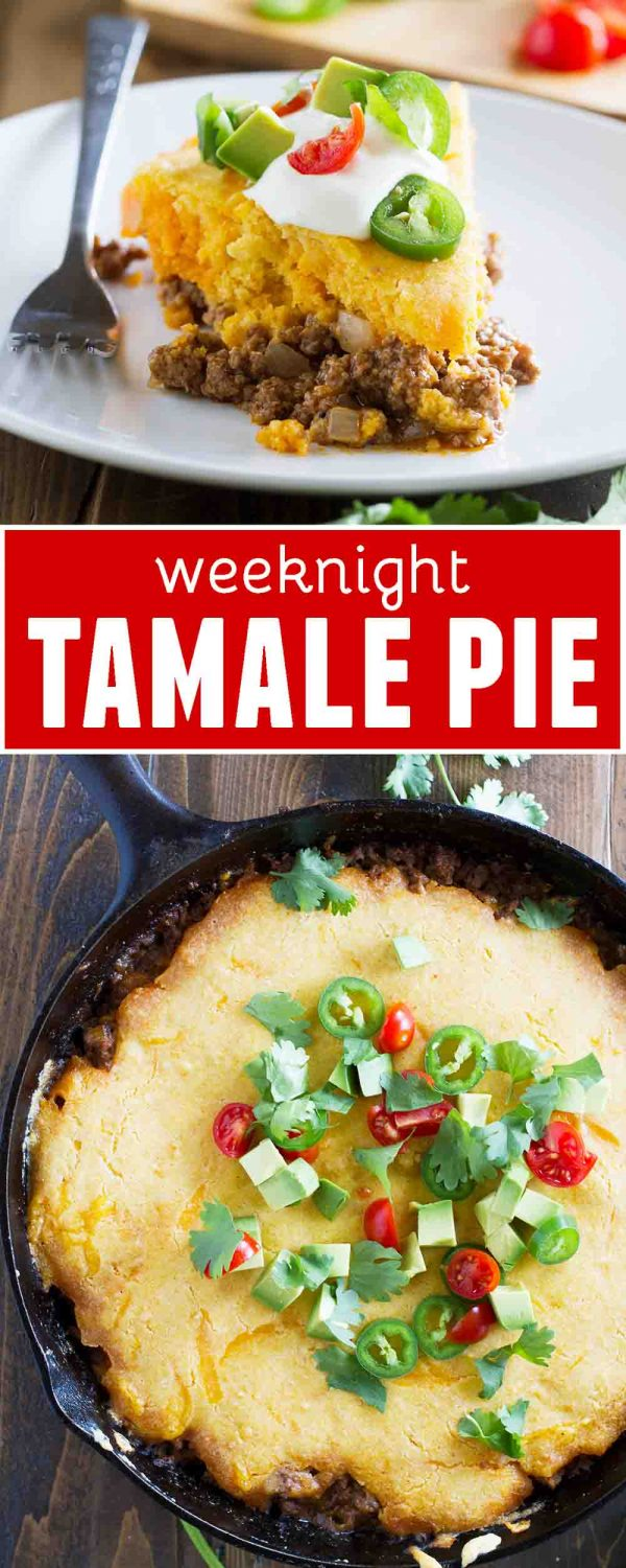 Weeknight Tamale Pie Recipe