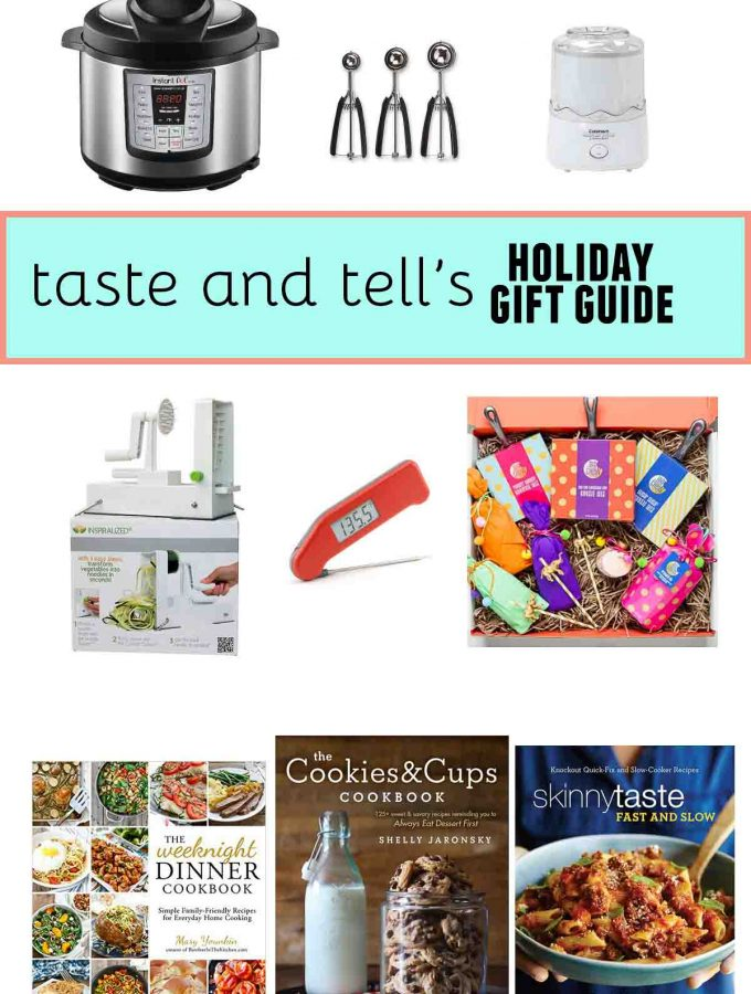 Kitchen Lover's Holiday Gift Guide
