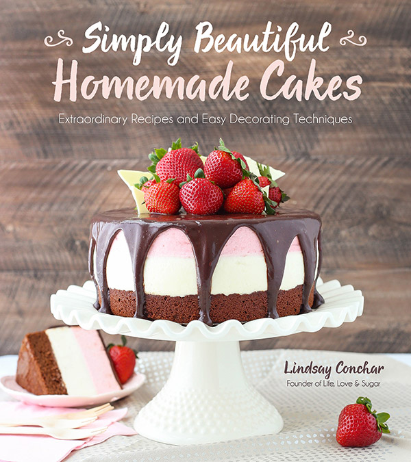 A review of Simply Beautiful Homemade Cakes and recipe for Peanut Butter Ice Cream Cake.