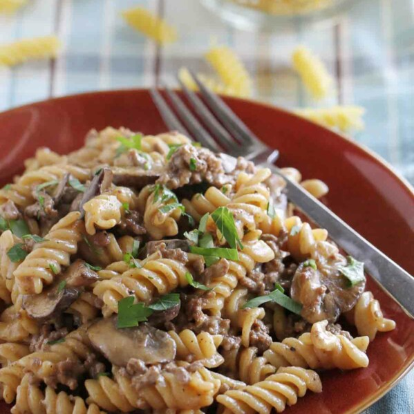 How to make Ground Beef Stroganoff in one pan